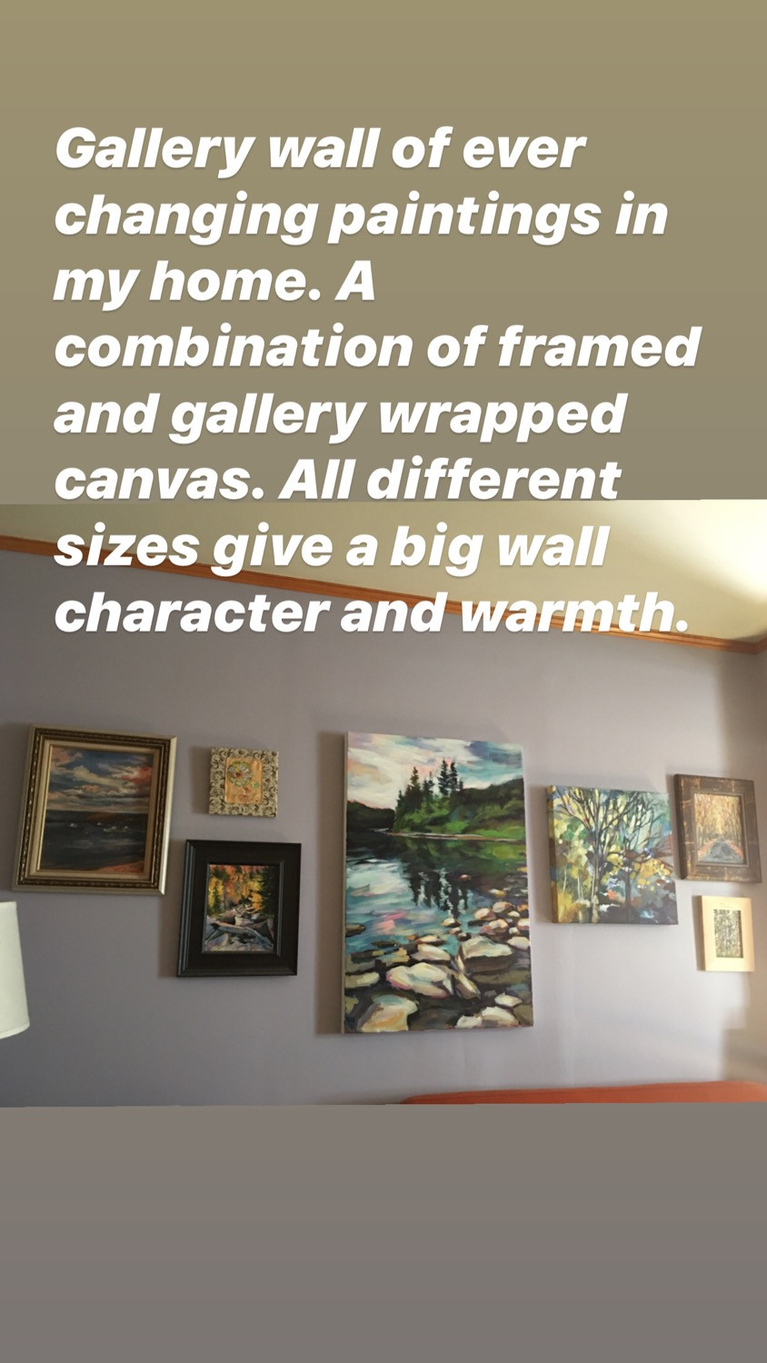 A gallery wall can define a room, show your personality, set your style apart from everyone else's.
