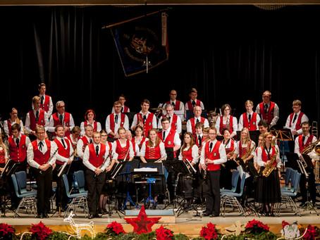Winterfeier des Musikverein Großbettlingen am Samstag, 07.12.2019 wieder ein voller Erfolg