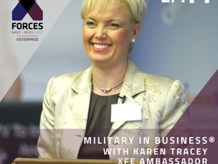 Karen Tracey features in X-Forces latest podcast 'Force of Nature' for International Women&#