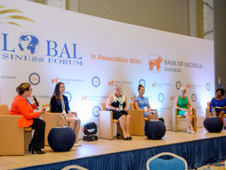 Karen Tracey attends Global Business Forum in Tbilisi, Georgia