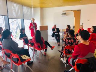 Karen Tracey inspiring future female entrepreneurs