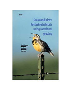 Grassland Bird - Rotational Grazing publ