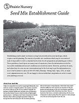Prairie Nursery seed-mix-establishment p