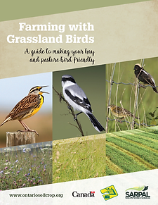 Farming and Grassland Birds cover