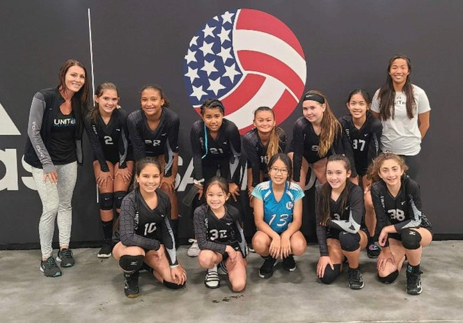 Honorable mention to 12s girls 5th place finish at the National Championships
