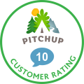 Getting started! 10/10 rating on Pitchup.com!