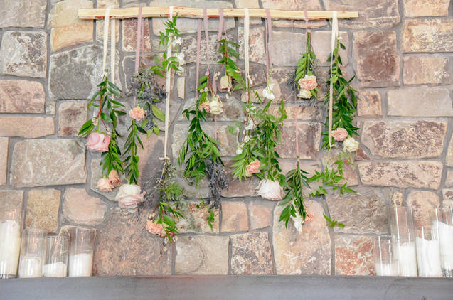 Silk Ribbon Floral Design