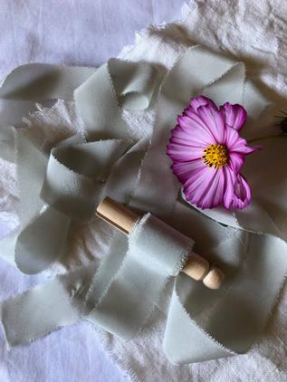 Prairie Sage Silk Ribbon