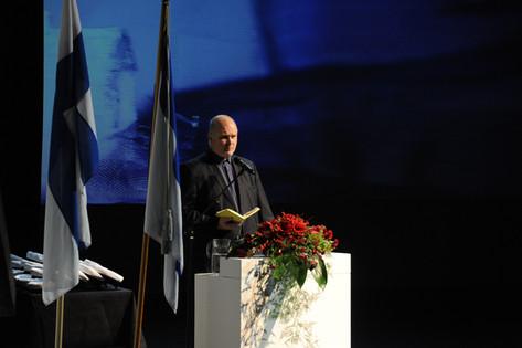 Juhlapuhuja Jouko Jokinen