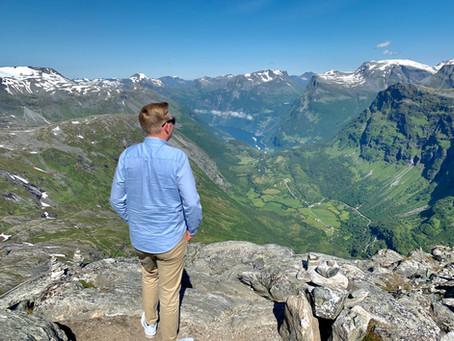 Norwegische Fjorde mit AIDAsol im Juli 2019