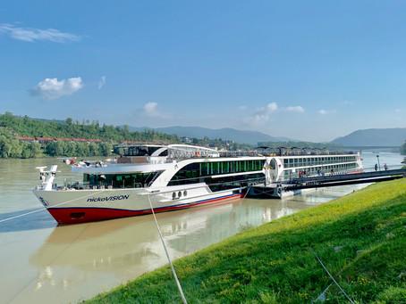 Mit der nickoVISION auf der Donau von Passau bis Budapest