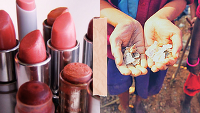 The misery which makes your makeup sparkle: Mica, makeup and environmentalists.