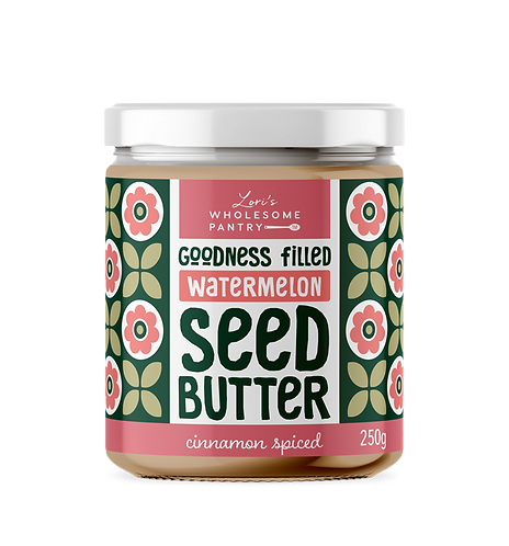 Cinnamon Spiced Watermelon Seed Butter