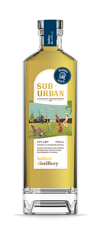 Suburban Barrel Aged Gin - Sherry Barrel