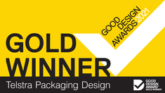 """""""Ticks every box for good communication & packaging design"""""""