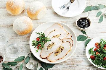 Festive Turkey Sandwich