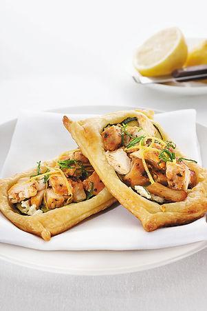 Mediterranean Chicken Tartlets