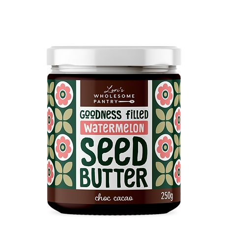 Choc Cacao Watermelon Seed Butter