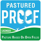 PROOF Pasture Raised on open fields lice