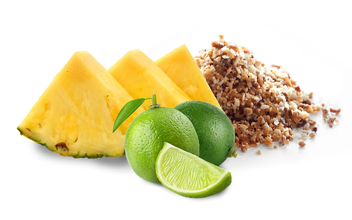 Lime Pineapple Crumbles