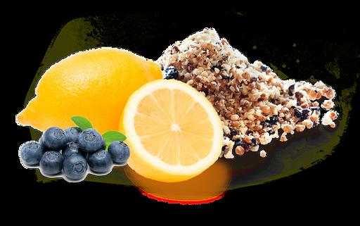 Lemon Blueberry Crumbles
