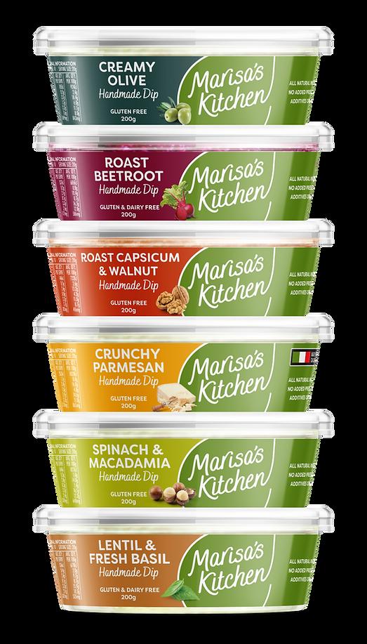 Marisa's Kitchen Dips