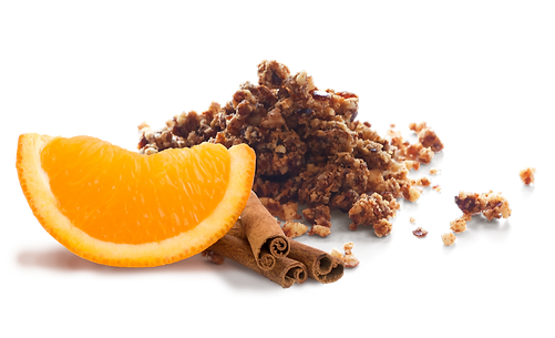 Orange Cinnamon Crumbles
