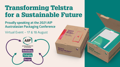 Transforming Telstra – Australasian Packaging Conference 2021