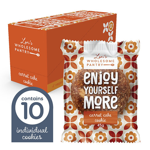 Carrot Cake Cookie 10 Pack