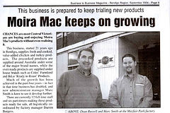 Moira Mac's Keeps On Growing
