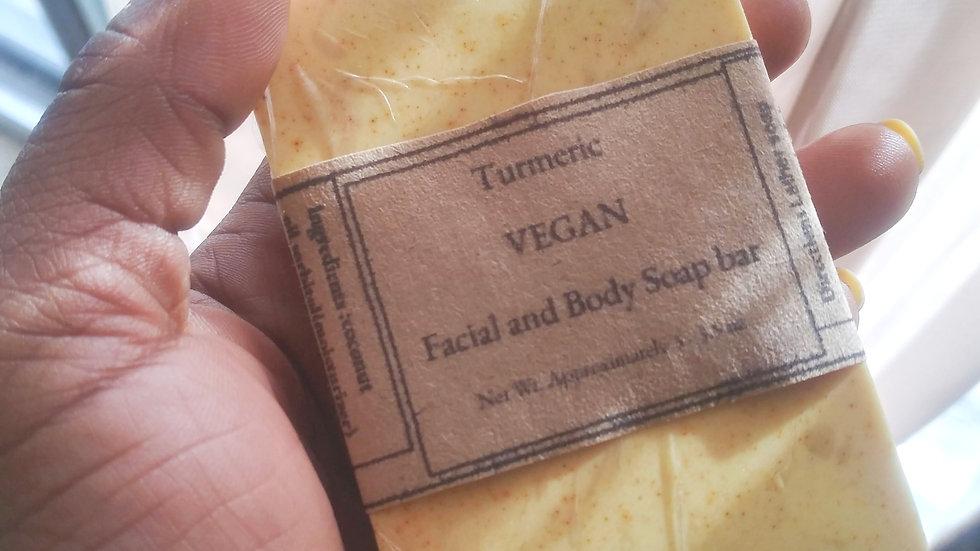 Vegan Turmeric facial and Body soap