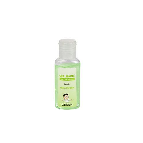 Dr Green – Gel mains antibactériens – 30mL