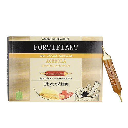 Phytovitae 20 ampoules Fortifiant