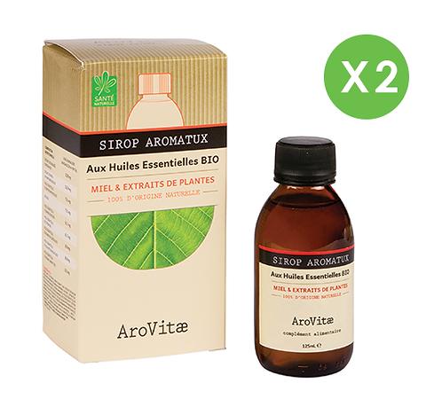 Arovitae – Duo Sirop Aromatux – 125mL x 2