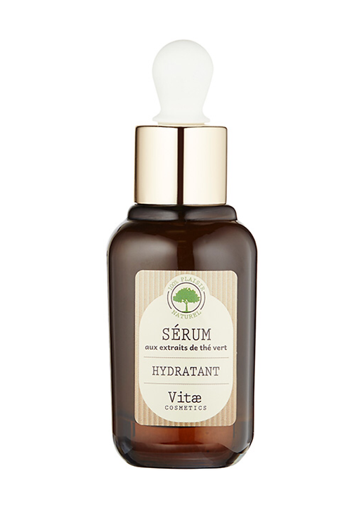 Vitae Cosmetics – Sérum hydratant au thé vert – 30mL