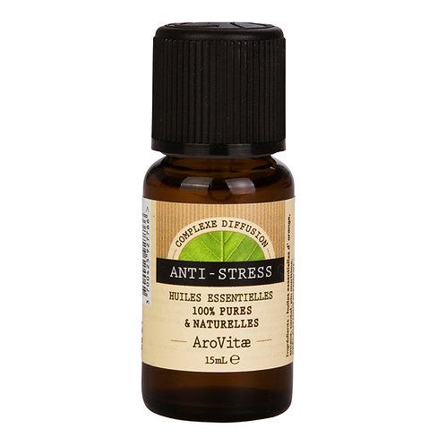 Arovitae – Complexe d'huiles essentielles ANTI-STRESS – 15mL