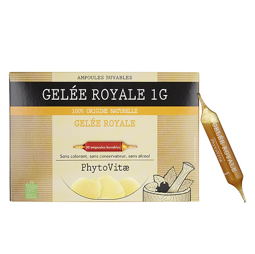 Phytovitae 20 ampoules Gelée Royale 1g