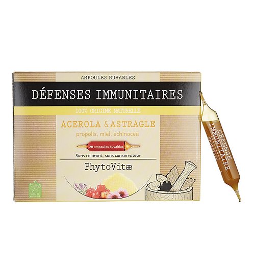 Phytovitae 20 ampoules Défenses immunitaires