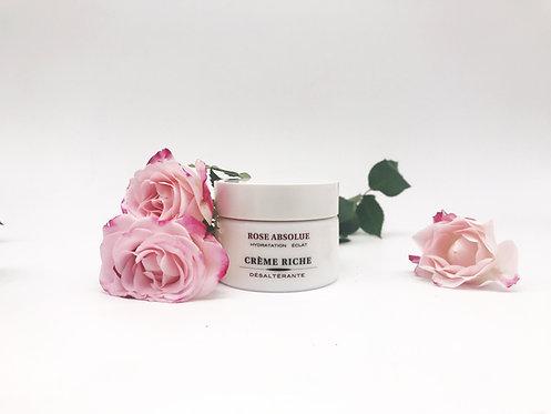 Crème riche désaltérante - ROSE ABSOLUE - My Skinadvance