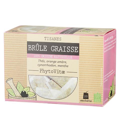 Phytovitae tisane brûle graisses – 20 sachets