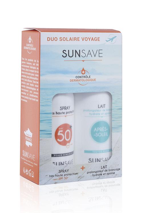 SUNSAVE – Duo solaire de voyage