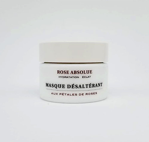 Masque désaltérant aux pétales de roses - ROSE ABSOLUE - My Skinadvance