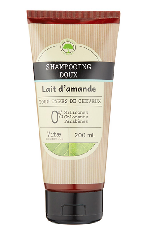 Vitae Cosmetics - Shampooing doux au lait d'amande - 200ml