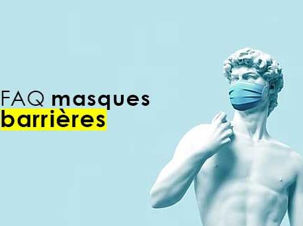 Masques barrières : FAQ
