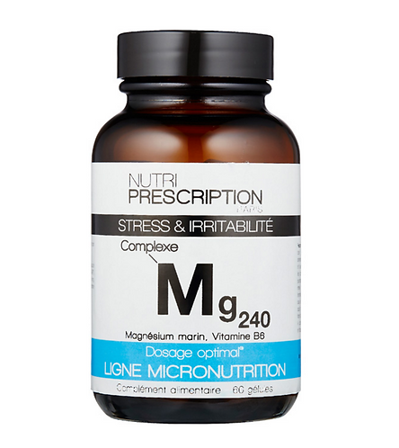 Mg240 Stress et irritabilité