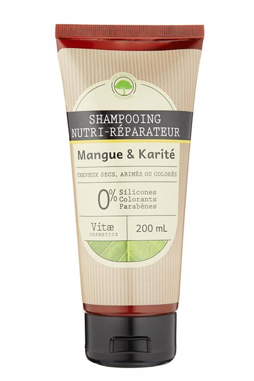 Vitae Cosmetics - Shampooing nutri-réparateur Mangue Karité - 200mL