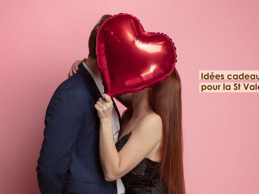 Idées cadeaux pour la St Valentin !