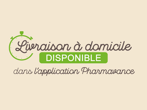 Faites-vous livrer avec l'Application Pharmavance !