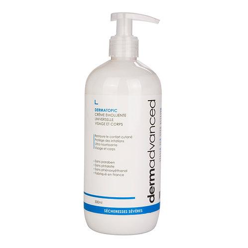 Dermatopic – Crème émolliente universelle visage et corps 500mL