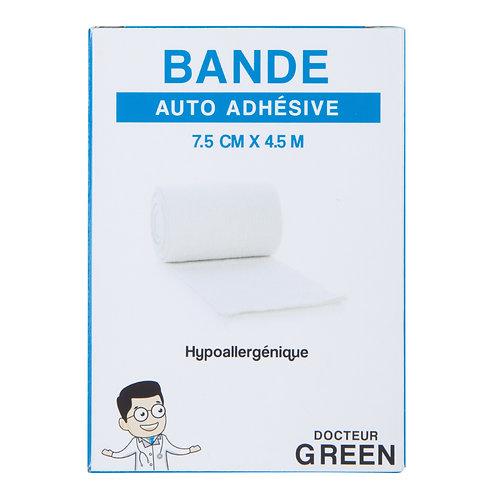 Dr Green – Bande élastique auto-adhésive 7cm x 4.5 cm